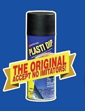 PLASTIDIP NERO Opaco PLASTI DIP Pellicola Spray Removibile Wrapping Auto Moto