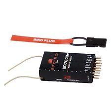 """6Ch. ED7000e Receiver Empfänger DSM2 """"Top +/- 800m"""", für Spektrum DX6i,DX7S usw."""