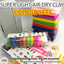 AIR DRY CLAY DIY Craft Gift, Soft Super Light Modeling Clay Large Refill AUSSIE