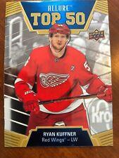 19-20 UD Allure Hockey Rookie Top 50 T50-3 Ryan Kuffner