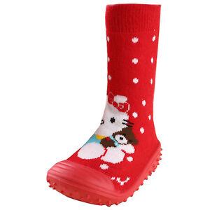 Infant Baby Cartoon Patterned Soft Rubber Bottom Anti-slip Floor Socks Boots