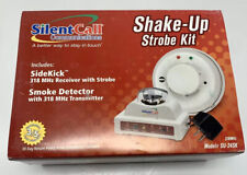 New listing Silent Call Shake-Up System with Sidekick Receiver Strobe Vibration New Open box