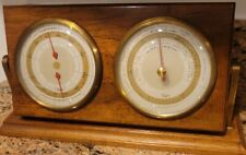 New listing Taylor Instrument Vintage Weather Station - Thermometer Barometer - Desk Top Usa