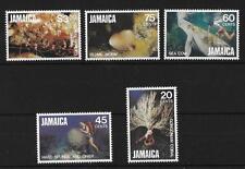 JAMAICA, QE11, 1982 MARINE LIFE SET, SG 541-5, MNH SET CAT 5 GBP