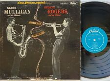 GERRY MULLIGAN SHORTY ROGERS Modern Sounds CAPITOL T 691 Turquoise Label 1956 LP