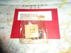 6 GARCIA MITCHELL 302 402 TRIP LEVER SCREWS 6 NOS MITCHELL REEL PART 81392 + 303