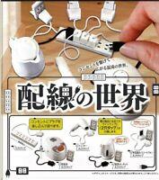 Epoch Toys Capsule Gashapon Wiring World Full Set 5 pieces