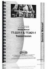 Ford A62 A64 A66  Allison Transmission Service Manual AL-S-TT2221