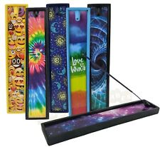 Poly Stone Incense Burner Holders Novelty - Space, Emoji, Rainbow - YOU CHOOSE