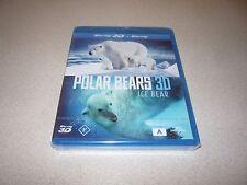POLAR BEAR 3D : ICE BEAR - BLU-RAY BRAND NEW AND SEALED