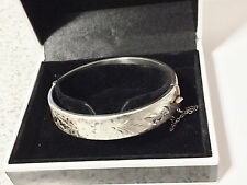 Sterling Silver Bangle -  R J Crafts - Birmingham - 1977