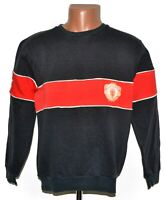 MANCHESTER UNITED 1984/1985 TRAINING FOOTBALL SWEAT TOP JERSEY ADIDAS SIZE L
