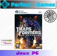 TRANSFORMERS LA REVANCHE PC Games jeux PC neuf new sous blister