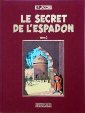 Blake Mortimer Secret Espadon 2 tirage de tête toile rouge Dargaud 1986 bis