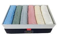 SEI asciugamani grandi SEI ospiti GABEL RIO spugna di puro cotone Colori Tenui