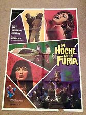 NIGHT FURY Vintage GUN Movie Film Poster BLANCA ESTRADA GLEN LEE MARIA PERSCHY