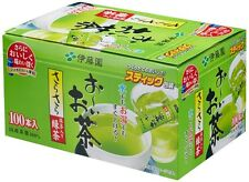 F/S From Japan Ito en Green Tea 100 cups Hot and Cool instant Stick Powder macch