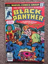 NOS > VF > BLACK PANTHER #1 comic book > CGC READY !!  marvel key 1st solo