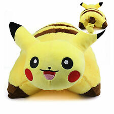 Soft Anime Pokemon Pikachu Pillow Cushion Pet Plush ToyS Doll Stuffed Home Decor