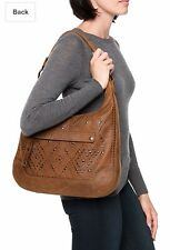 FRYE MELISSA Distressed studded Leather Handbag Purse