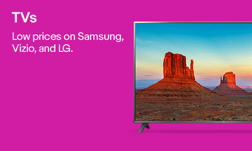 TVs | Competitive prices on Samsung, Vizio, and LG.