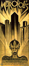 Metropolis Movie Heinz Schulz-Neudamm (1) XXL 1 Piece 1.3 Meter Poster Art Print