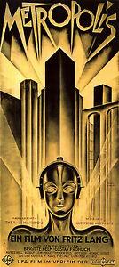 Metropolis Movie Heinz Schulz-Neudamm (1) LARGE 1.3 Meter Poster **UK SELLER**