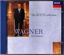 SOLTI: WAGNER Meistersinger Tannhäuser Tristan und Isolde Fliegende Holländer CD