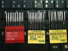 New!30 Industrial Sewing Machine Needles DPx17,135x17BrotherSinger,Juki 12/14/16