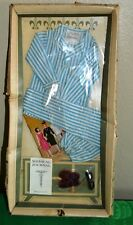 Nrfb Dr John Littlchap /Striped Pajamas Outfit Vintage Remco 1963