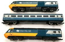 HORNBY MODEL RAILWAY HST 125 BR INTERCITY 3 Car OO TRAIN SET