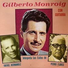 Gilberto Monroig con Guitarra Interpreta Los Exitos de Rafael Hernandez Y Pedro
