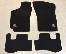 Autoteppich Fußmatten für Fiat Coupe 16V 20V Turbo Abarth Stick Nubukband 4teilg