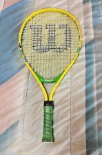 """Wilsonâ""""¢ ~ Spongebob Junior 21 inch Tennis Racquet Racket ~ Very Good"""