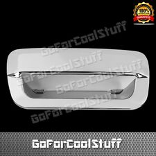 For 14-15 Jeep Grand Cherokee Chrome Tailgate Handle Abs Cover