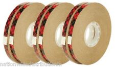 Scotch 3M ATG Adhesive Tape Glider Gun General Purpose Refill 6 ROLLS 1/4 x 36yd