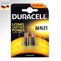 2 Duracell MN21 12V Alkaline Batterie 12 Volt LR23 LR23A 23AE A23 L1028 23A A23S