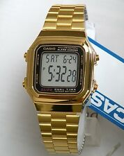 Casio Vintage Watch * A178WGA-1A Illuminator Gold Steel Classic COD PayPal