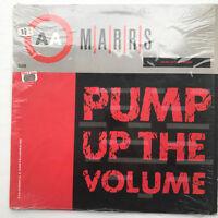 "Marrs Pump Up The Volume Vinyl Record Original 1987 Acid House 12"""
