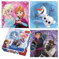 Trefl 3 In 1 20 + 36 + 50 Piece Girls Kids Disney Frozen Anna Elsa Jigsaw Puzzle