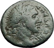 ALEXANDER III the GREAT on HORSE Bucephalus MACEDONIA KOINON Greek Coin i57903