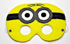 Handmade Kids Mask - 2 Eye Minion - Despicable Me - Dress up costume