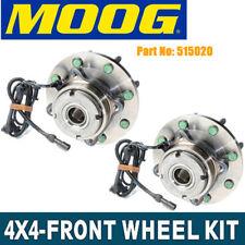 Moog New Front Wheel Hub Bearings Pair For Ford F-150 09-10 RWD