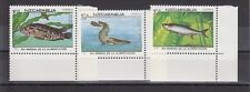 TIMBRE STAMP 3 NICARAGUA Y&T#1474-76 POISSON FISH NEUF**/MNH-MINT 1987 ~A95