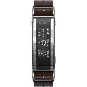SONY WNW-C21A T smartwatch wena 3 leather Brown