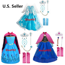 Queen Princes costume Party Dress up set For Kids Girls With Accessories 3 Style