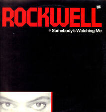 """ROCKWELL """" SOMEBODY'S WATCHING ME """" LP  NUOVO 1984 RICORDI ITALY"""