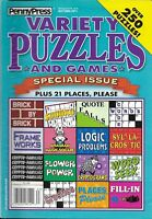 Penny Press Magazine Variety Puzzles And Games Special Issue Sudoku Logic Seek