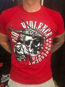 """Pro Violence T-Shirt """"Hausbesuche Weltweit"""""""