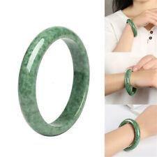 Chinese Genuine Natural Green Jade Gems Bangle Bracelet Beauty Gifts